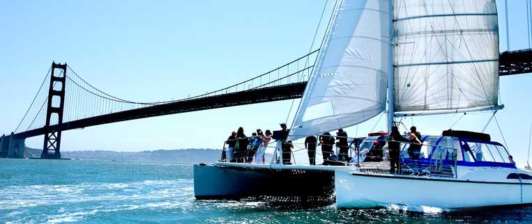Catamaran Sail San Francisco