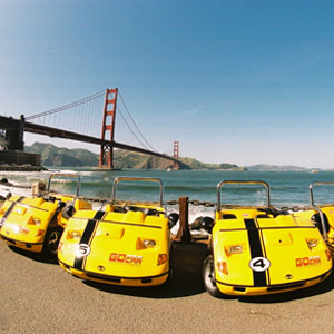 San Francisco's Talking GoCar Tours